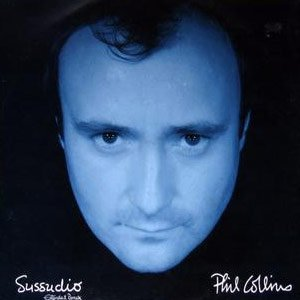 Phil Collins Sussudio Single Cover