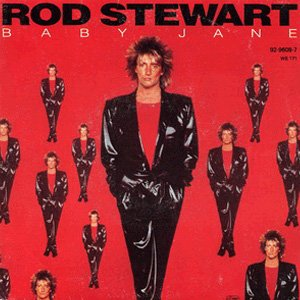 Rod Stewart - Baby Jane - Single Cover