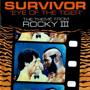 Survivor - Eye Of The Tiger - Single Cover