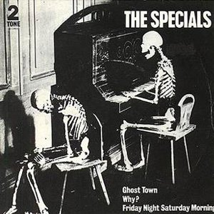 The Specials Ghost Town Single Cover