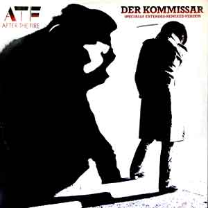 After The Fire - Der Kommissar - Single Cover