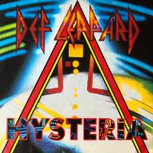 Def Leppard - Hysteria - Single Cover
