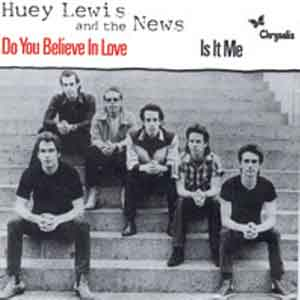 Huey Lewis And The News - Do You Believe In Love - Single Cover