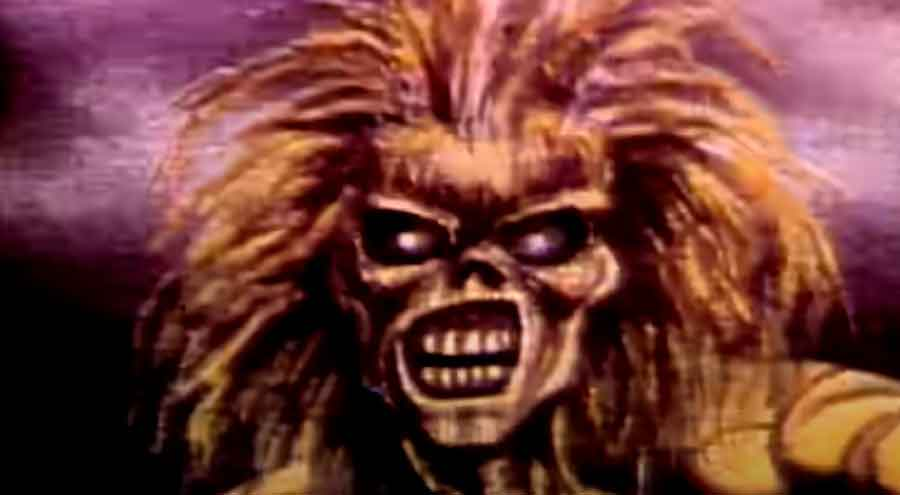 Iron Maiden - Wasted Years - Official Music Video