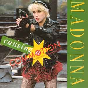 Madonna - Causing A Commotion - Single Cover