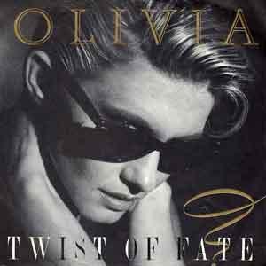 Olivia Newton-John - Twist of Fate - Single Cover