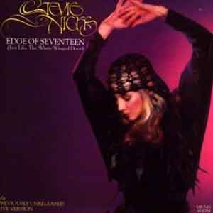 Stevie Nicks - Edge of Seventeen (Just Like the White Winged Dove) - Single Cover