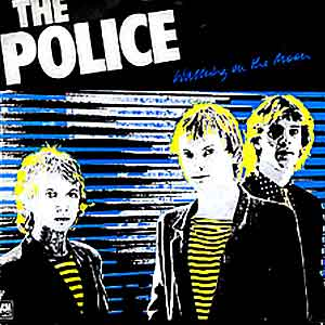 The Police - Walking On The Moon - Single Cover