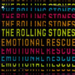 The Rolling Stones - Emotional Rescue - Single Cover