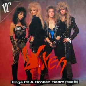 Vixen - Edge of a Broken Heart - Single Cover