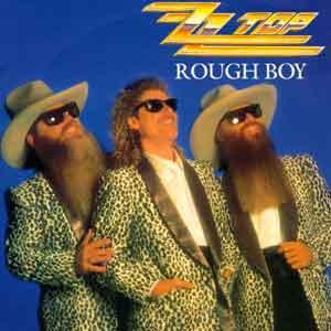 ZZ Top - Rough Boy - Single Cover
