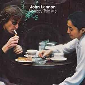 John Lennon - Nobody Told Me - Single Cover