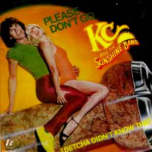 KC and the Sunshine Band - Please Don't Go - Single Cover