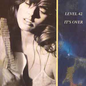 Level 42 - It's Over - Single Cover