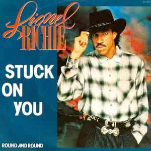Lionel Richie - Stuck on You - Single Cover