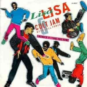 Lisa Lisa & Cult Jam with Full Force - I Wonder If I Take You Home - Single Cover