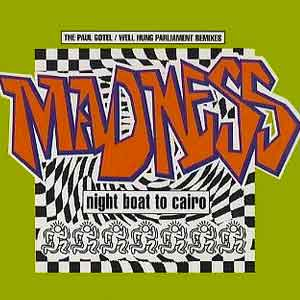 Madness - Night Boat to Cairo - Single Cover