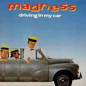Madness - Driving in My Car - Single Cover