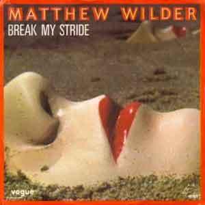 Matthew Wilder - Break My Stride - Single Cover