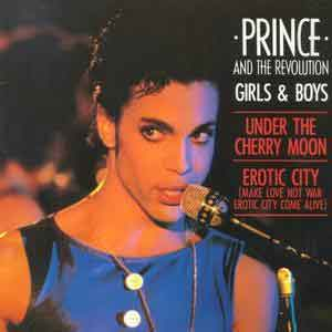 Prince & The Revolution - Girls & Boys - Single Cover
