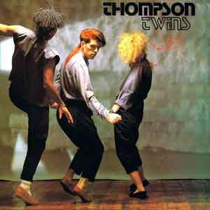 Thompson Twins - Lies - Official Music Video - Single Cover