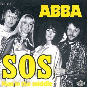 Abba – SOS – Single Cover