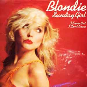 Blondie - Sunday Girl - Single Cover