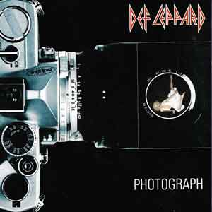 Def Leppard - Photograph - Single Cover