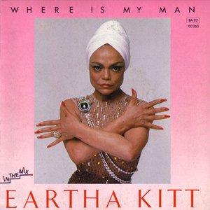 Eartha Kitt - Where Is My Man - Single Cover