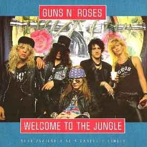 Guns N' Roses - Welcome To The Jungle - Single Cover
