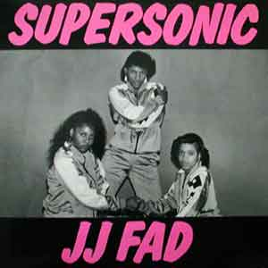 J.J. Fad - Supersonic - Single Cover