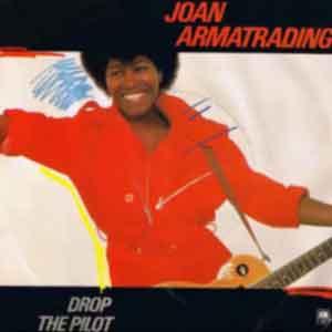 Joan Armatrading - Drop The Pilot - single cover