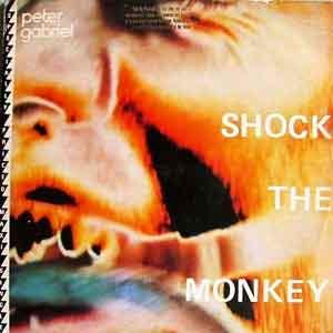 Peter Gabriel - Shock The Monkey - Single Cover