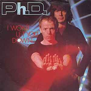 Ph.D - I Won't Let You Down - Single Cover