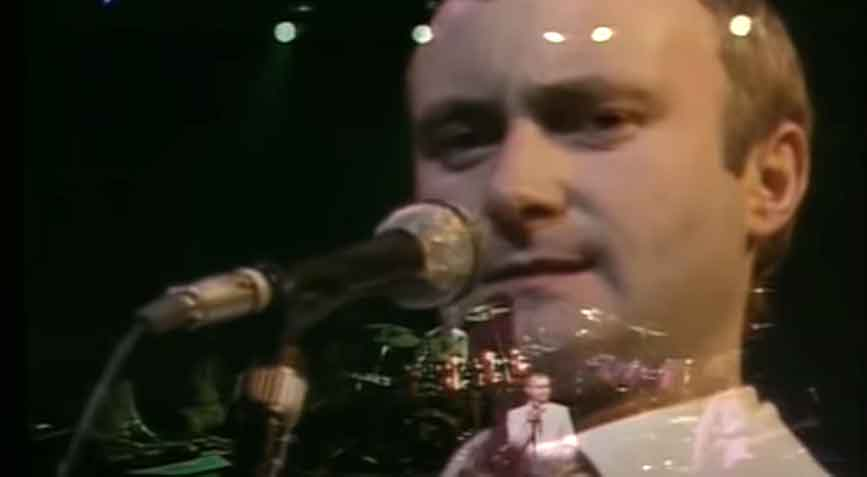 Phil Collins - I Don't Care Anymore - Official Music Video