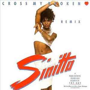 Sinitta - Cross My Broken Heart - Single Cover