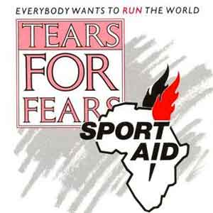 Tears for Fears - Everybody Wants to Run The World - Single Cover