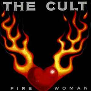 The Cult - Fire Woman - Single Cover