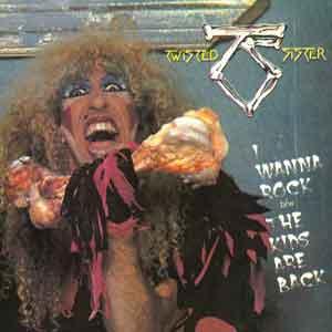 Twisted Sister - I Wanna Rock - Single Cover