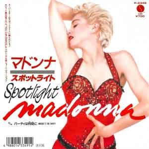 Madonna - Spotlight - Single Cover