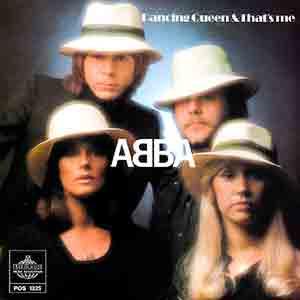Abba - Dancing Queen - Single Cover