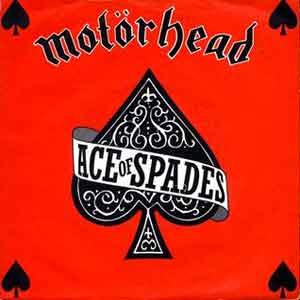 Motörhead – Ace Of Spades - Single Cover