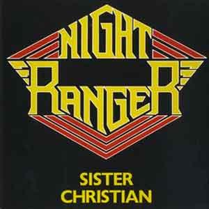 Night Ranger - Sister Christian - Single Cover