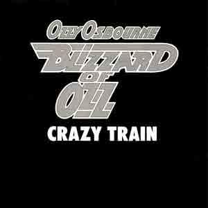 Ozzy Osbourne - Crazy Train - Single Cover