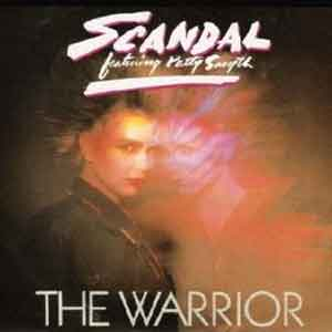 Scandal feat. Patty Smyth - The Warrior - Single Cover