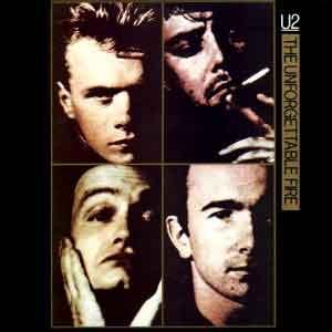 U2 - The Unforgettable Fire - Single Cover