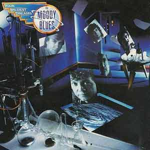 The Moody Blues - Your Wildest Dreams - Single Cover